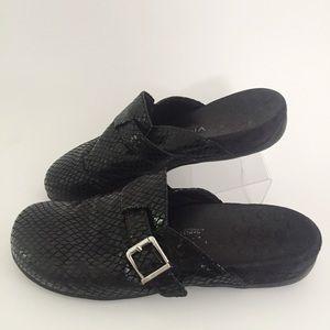 Vionic Orthaheel Mules Black 8M